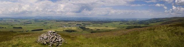 Cairn on Ochil Hills
